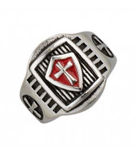 Ring Shield and Cross, the Knights Templar
