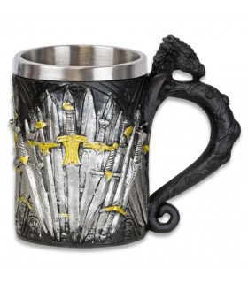 Mug decorative medieval swords