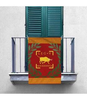 Banner Legio V Macedonica Roman (70x100 cm.)