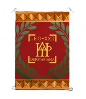 Banner Legio XXII Deiotariana Roman (70x100 cm.)