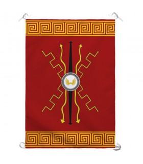 Banner Roman Gods. Interior and exterior (70x100 cms.)