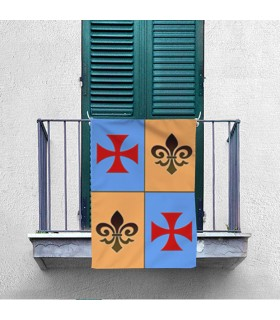 Banner Medieval Quartered Templar Cross (70x100 cms.)
