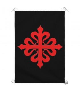 Banner Cross, Order of Calatrava (70x100 cms.)