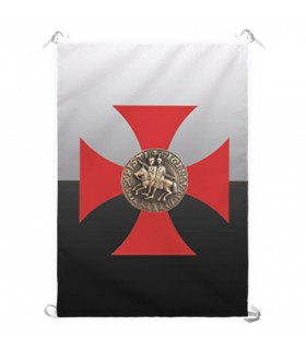 Banner Cross Templar Knights (70x100 cms.)