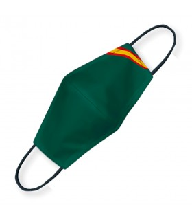 Face accessory green flag Spain. Approved and reusable.