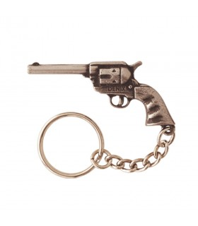 Keychain revolver short of the west