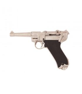 Pistol Parabellum Luger P08 nickel