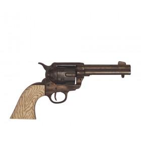 Revolver Peacemaker .45 burnished
