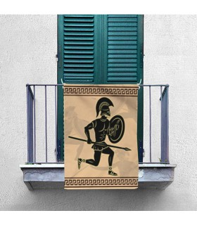 Banner Greek Fighters (70x100 cms.)