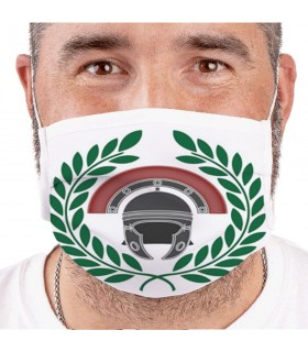Mask Helmet roman Centurion Reusable and approved (for adults)