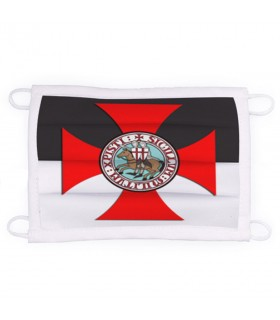 Mask Knights Templar Reusable and Approved (for adults)
