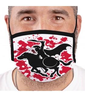 Mask-Spartan warrior Reusable and Approved (for adults)