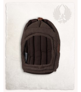 Protective padded Aulber closed brown