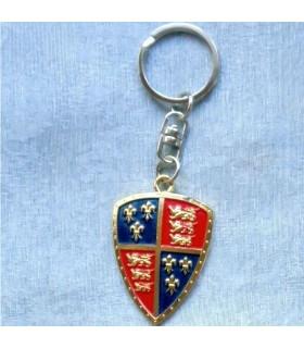 Key ring heraldic shield Black Prince