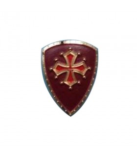Magnet medieval with the Cross of the Cathari, 5 cm