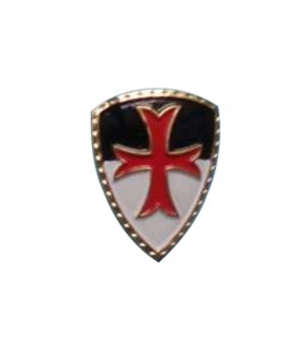 Magnet medieval with the Templar Cross, 5 cm