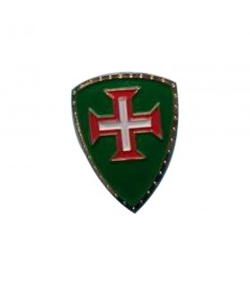 Magnet medieval with the Cross of the Christ Knights, 5 cm