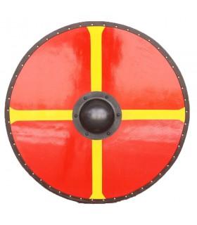 Shield Viking Cross of Windlass wood and steel