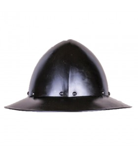 Helmet Kettle model Ralf, dark finish