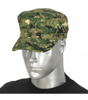 Cap military camo green pixel, adjustable with velcro