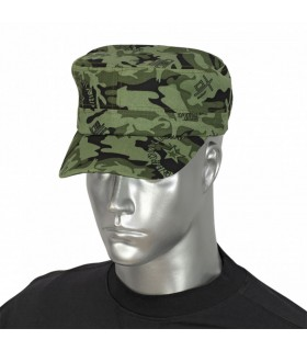 Cap military camo green special, adjustable with velcro