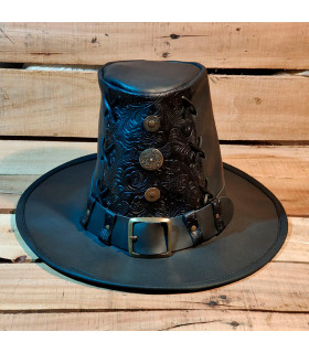Hat Johann the Hunter of Witches embossed black