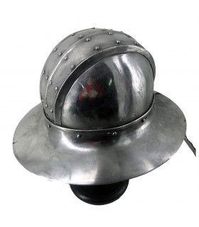 Medieval helmet Kettle S. XII, Reconditioned
