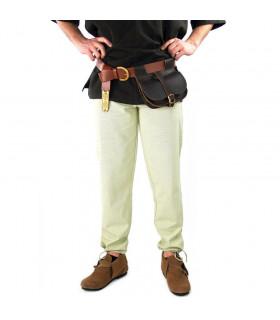 Arvo medieval trousers, hemp color