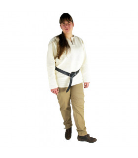 Arvo medieval trousers, sand brown color