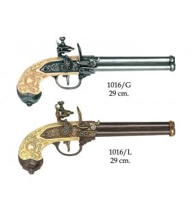 Italian gun 3 guns manufactured by Lorenzoni, 1680