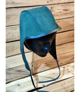 Crespina Rouland in green leather