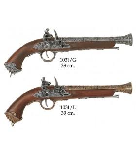 Italian pistol, XVIII century
