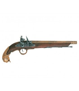 German pistol, the eighteenth century