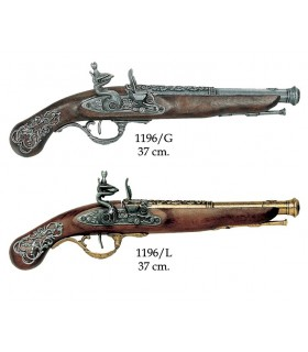 English pistol, the eighteenth century