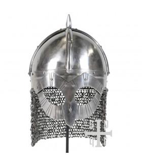 Gjermundbu Viking helmet with mask and executioner, IX-X centuries