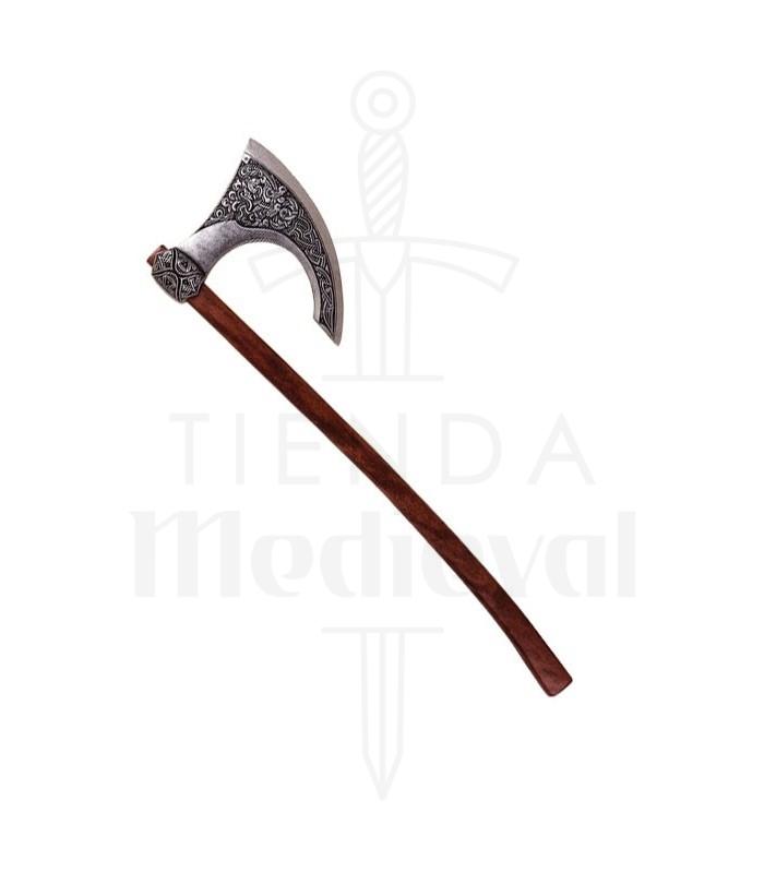 Viking ax. Scandinavia eighth century (87 cms.)