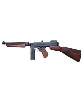 Thompson submachine gun with magazine, USA 1928