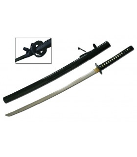 Black carbon steel Katana