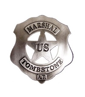 US Marshal Tombstone plate