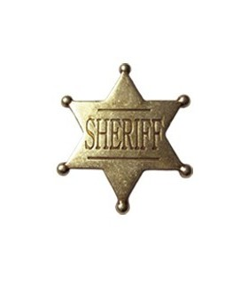 Sheriff 6 Point Star