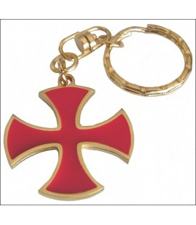 Kick Templar Cross Keychain