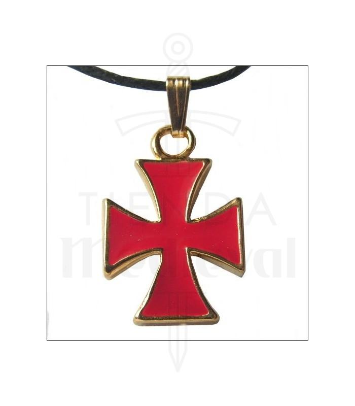 Templar cross pendant medieval shop templar cross pendant aloadofball Image collections