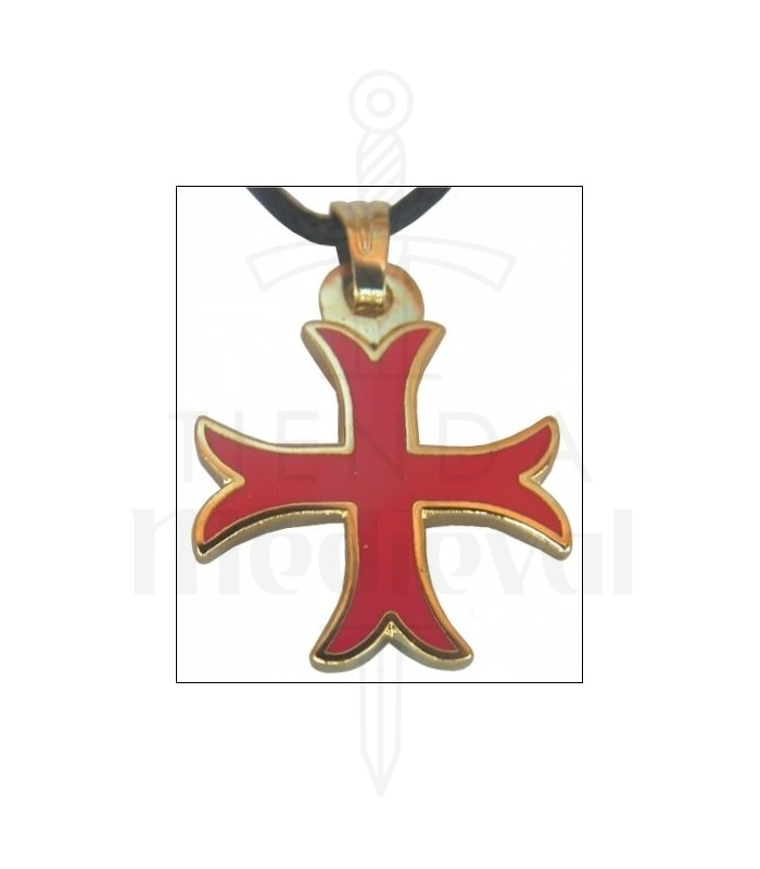 Templar cross pendant kick medieval shop templar cross pendant kick aloadofball Image collections