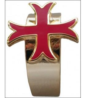 Self-adjusting ring Templar cross kick