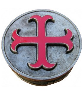 Templar cross anchored pillbox