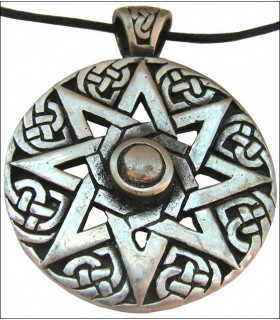 Celtic cross pendant 8-arm