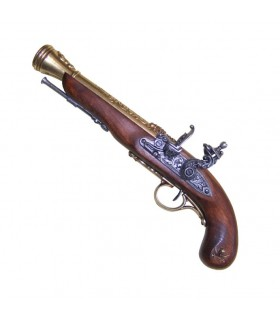 Spark pirate pistol XVIII century (Left Handed)