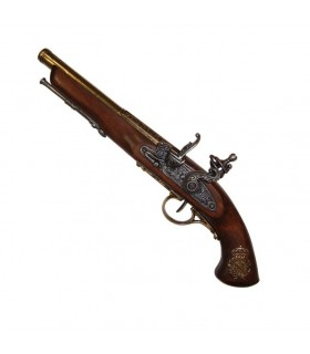 Flintlock pistol, France nineteenth century. (Left Handed)