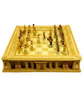 Chess Egyptians and Romans (45x45x9 cms.)
