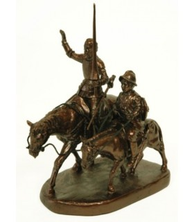 Figures Don Quixote and Sancho Panza (small)